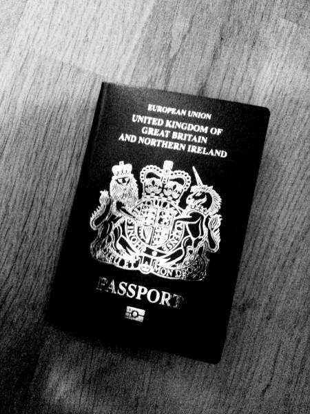 Brank New Spanking Passport has finally arrived!