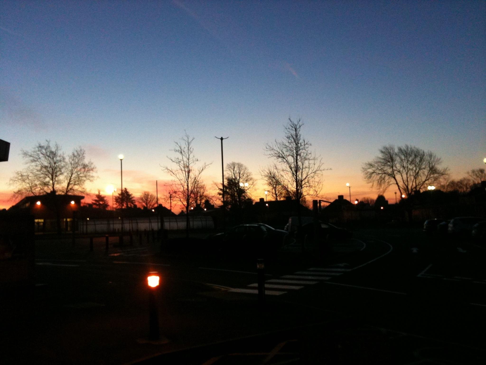 Funky Friday Photo: Sunrise over Braunstone