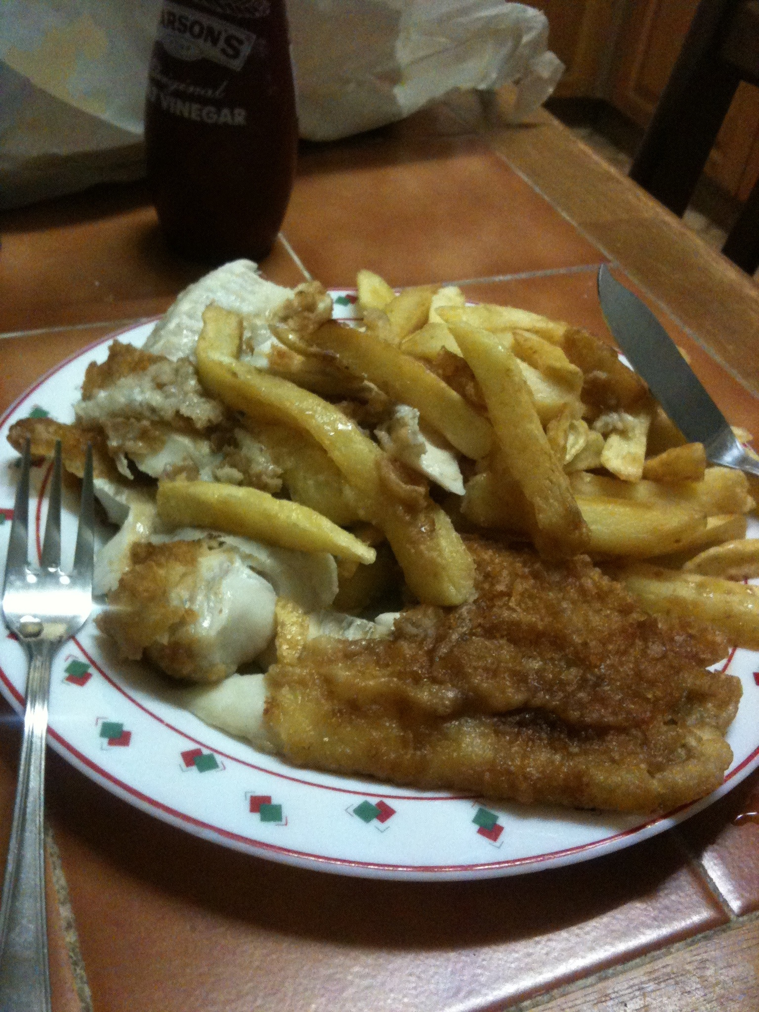 Funky Friday Photo: Fish 'N' Chip Delight