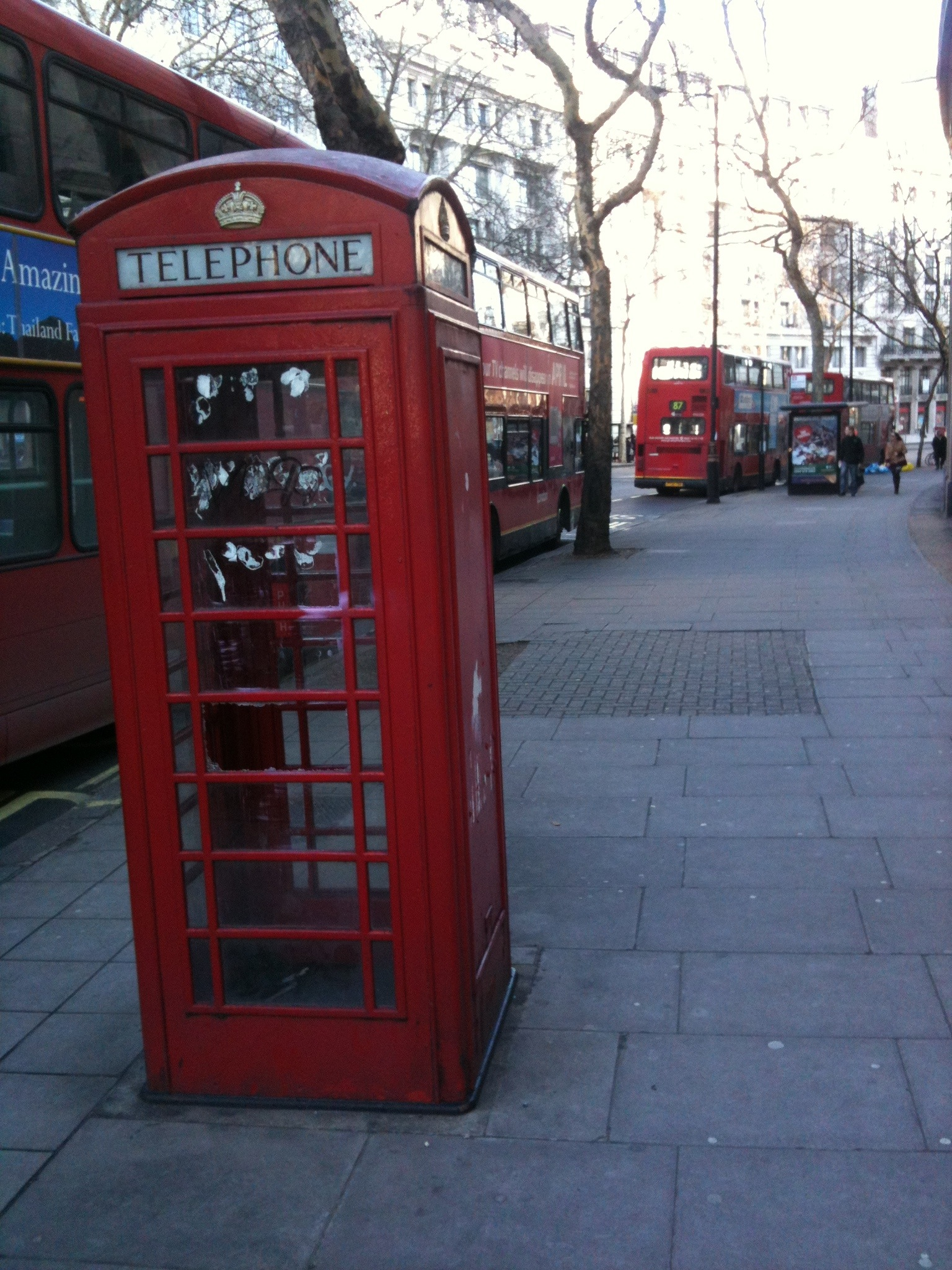 Funky Friday Photo: Let's Paint London Red!