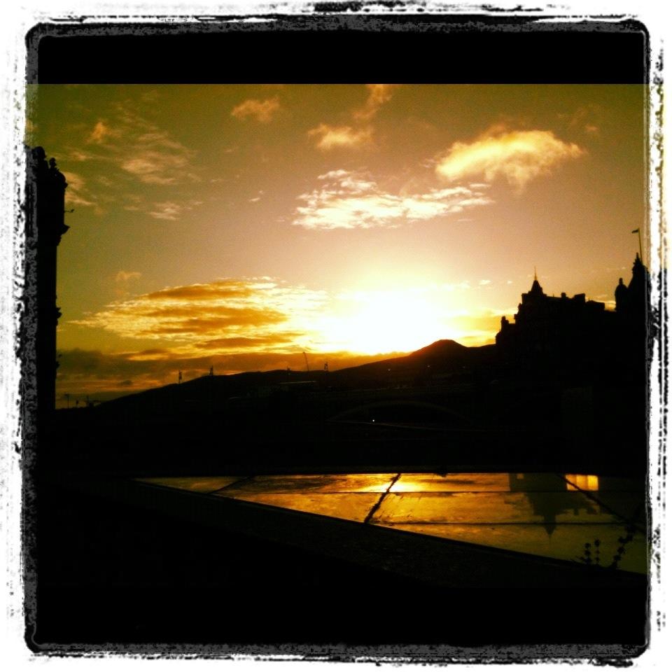 Funky Friday Photo: Edinburgh Skyline