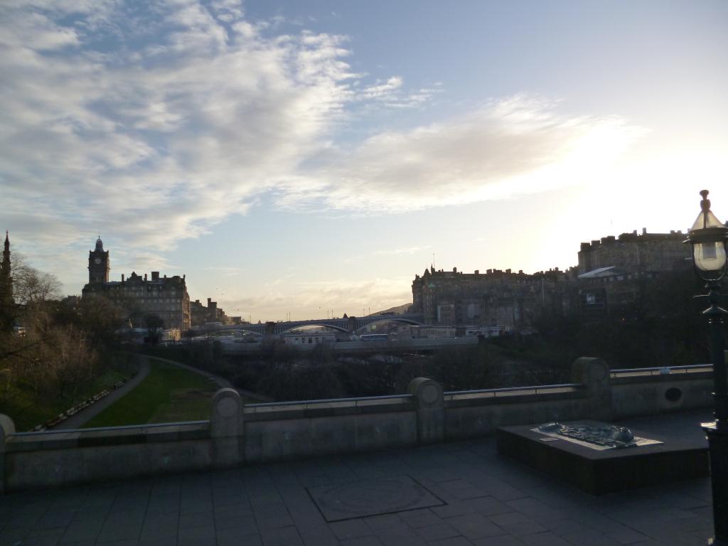 Edinburgh, All is Forgiven…