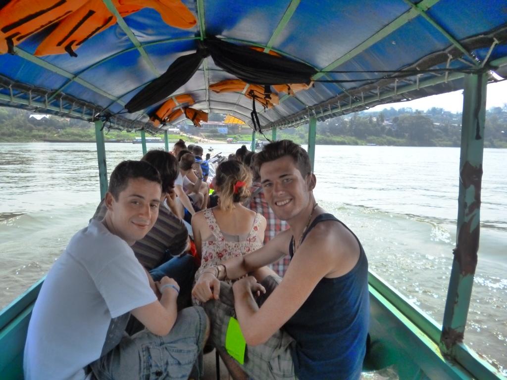 The Thai-Laos Border Crossing from Chang Khong to Huay Xai