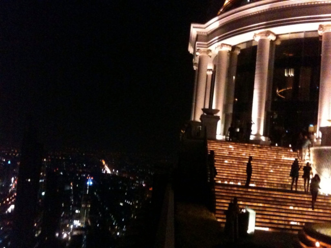Gazing Over Bangkok at Night
