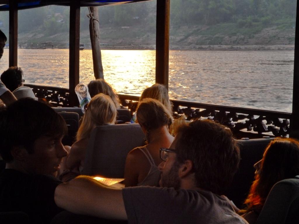 The Mekong Slowboat to Luang Prabang