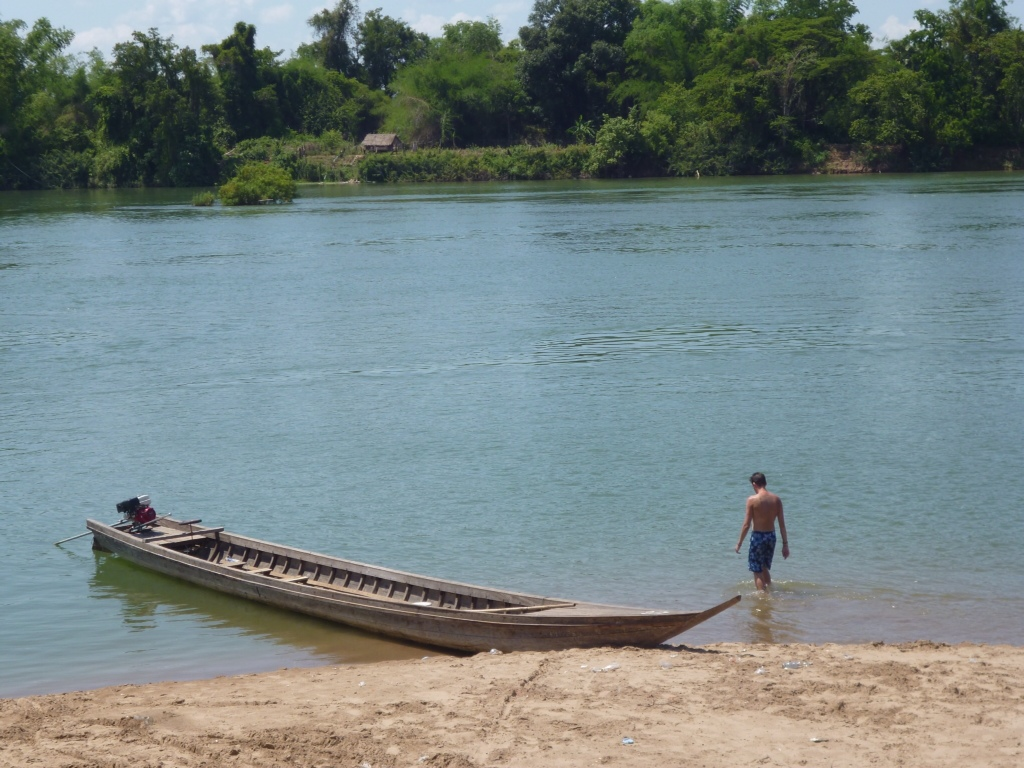 No money and no way of getting out of Laos…