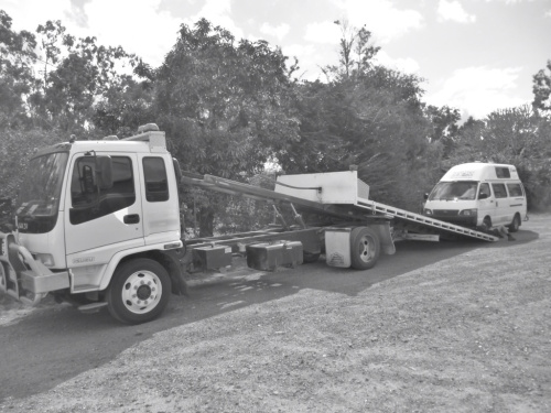 Towed Back to Cairns