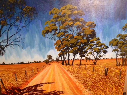 Posh Art Show in the Middle of the Outback