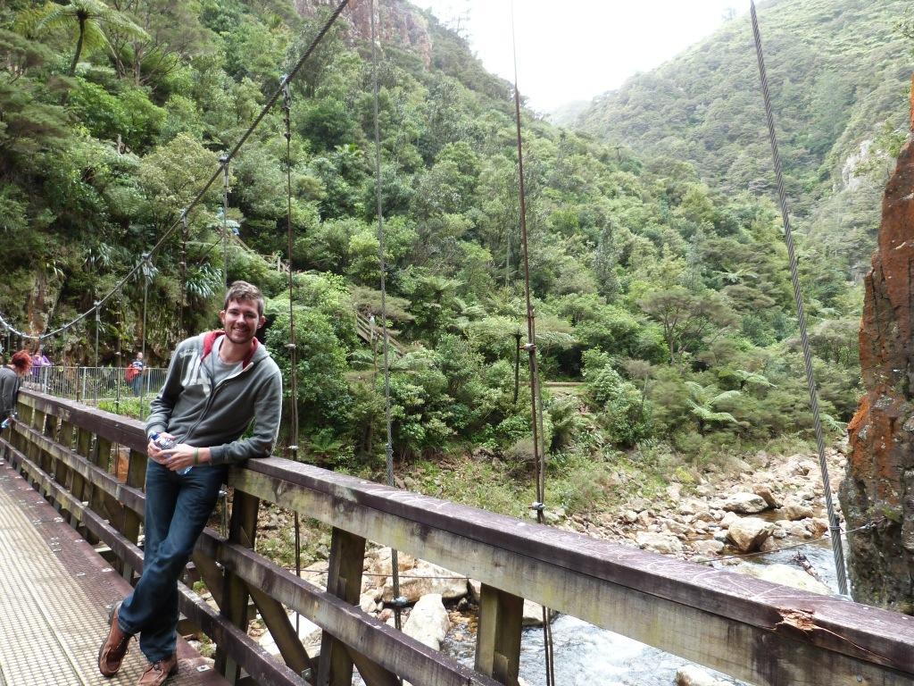 Kiwi Experience Day 2 – Waitomo Wandering