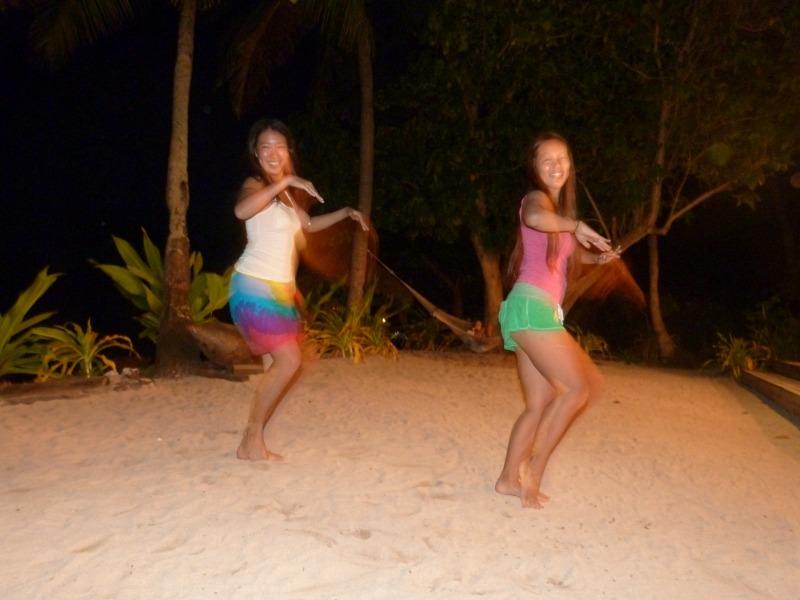 Dancing Tahitians