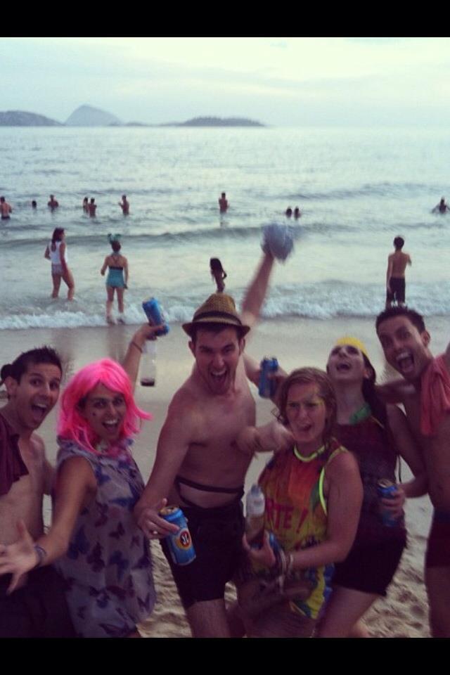 Lapa Street Parties and Banda da Ipanema (Take 1)
