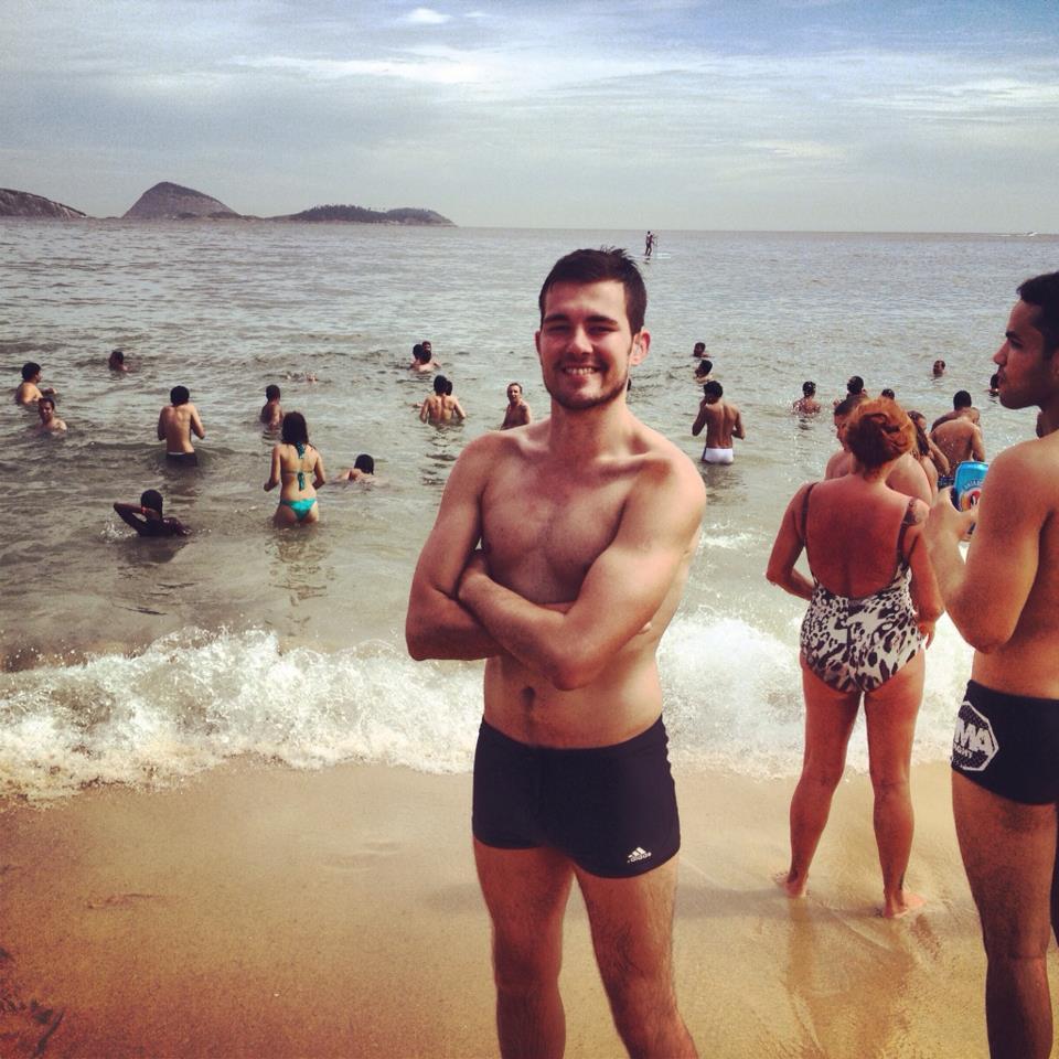 ipanema, beach holiday