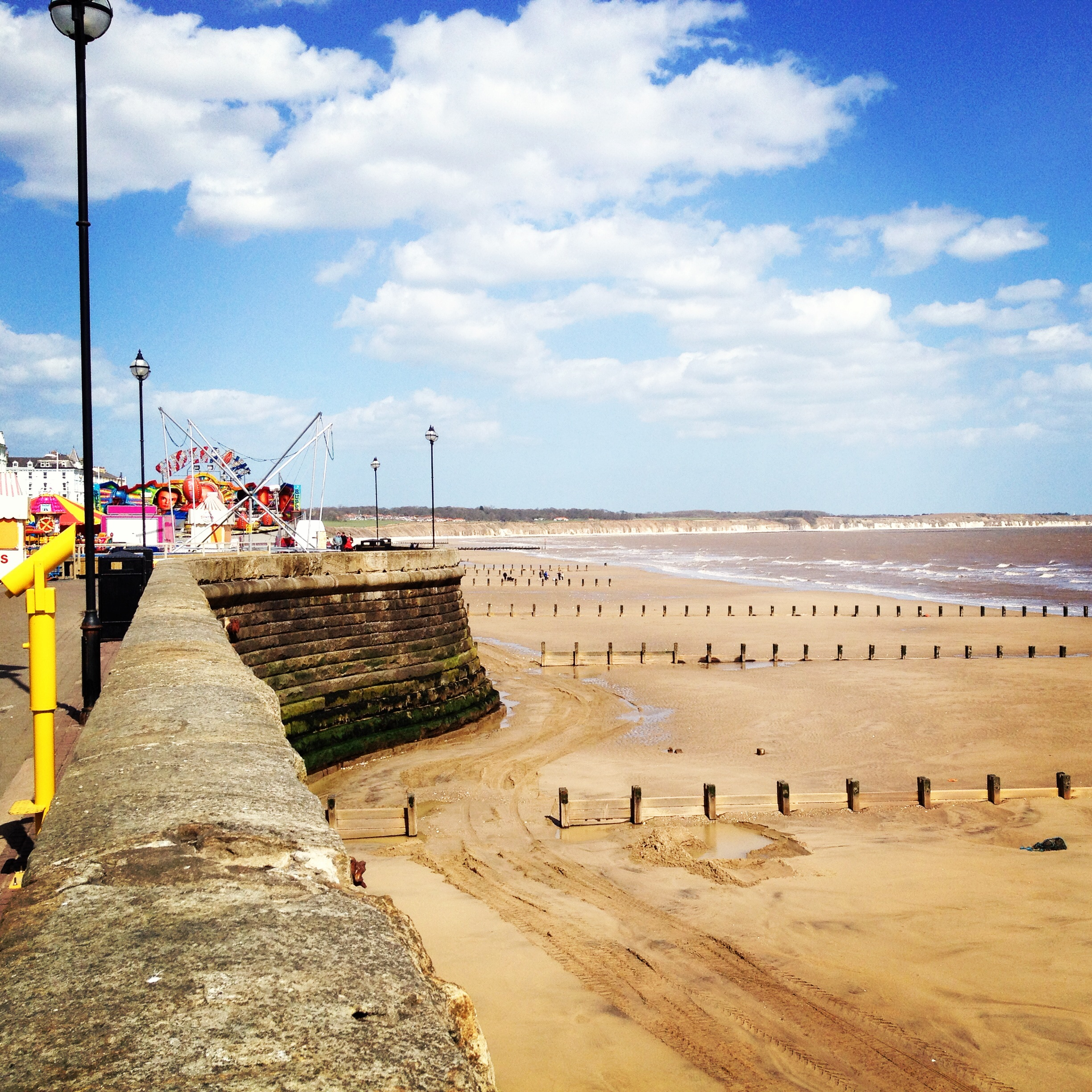 Ice Creams, Memories, Amusements and Beach Fun at Bridlington
