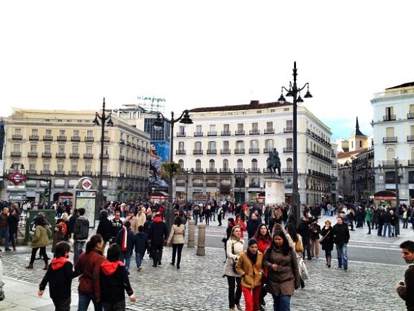 Madrid, Plaza del Sol