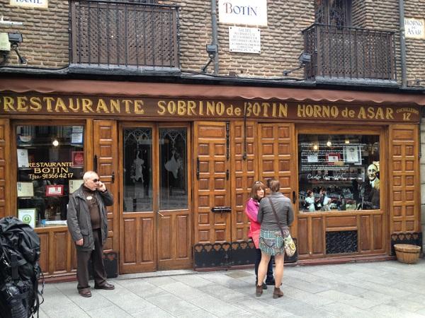 Madrid, restaurants in Madrid
