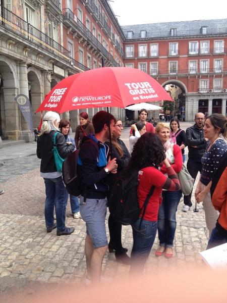 Madrid, Walking tour of madrid