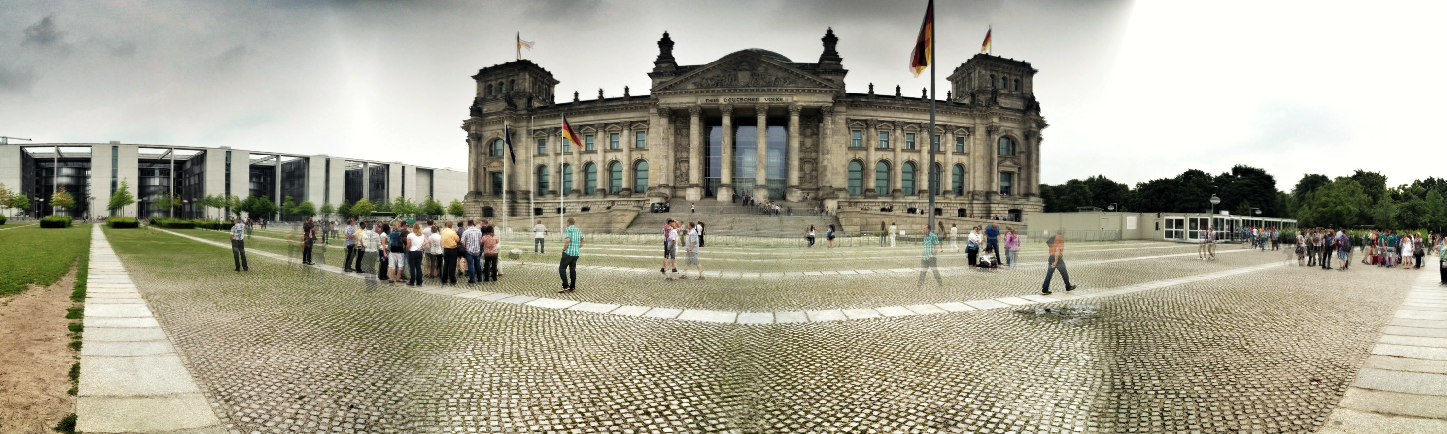 I Fell in Love with the Reichstag
