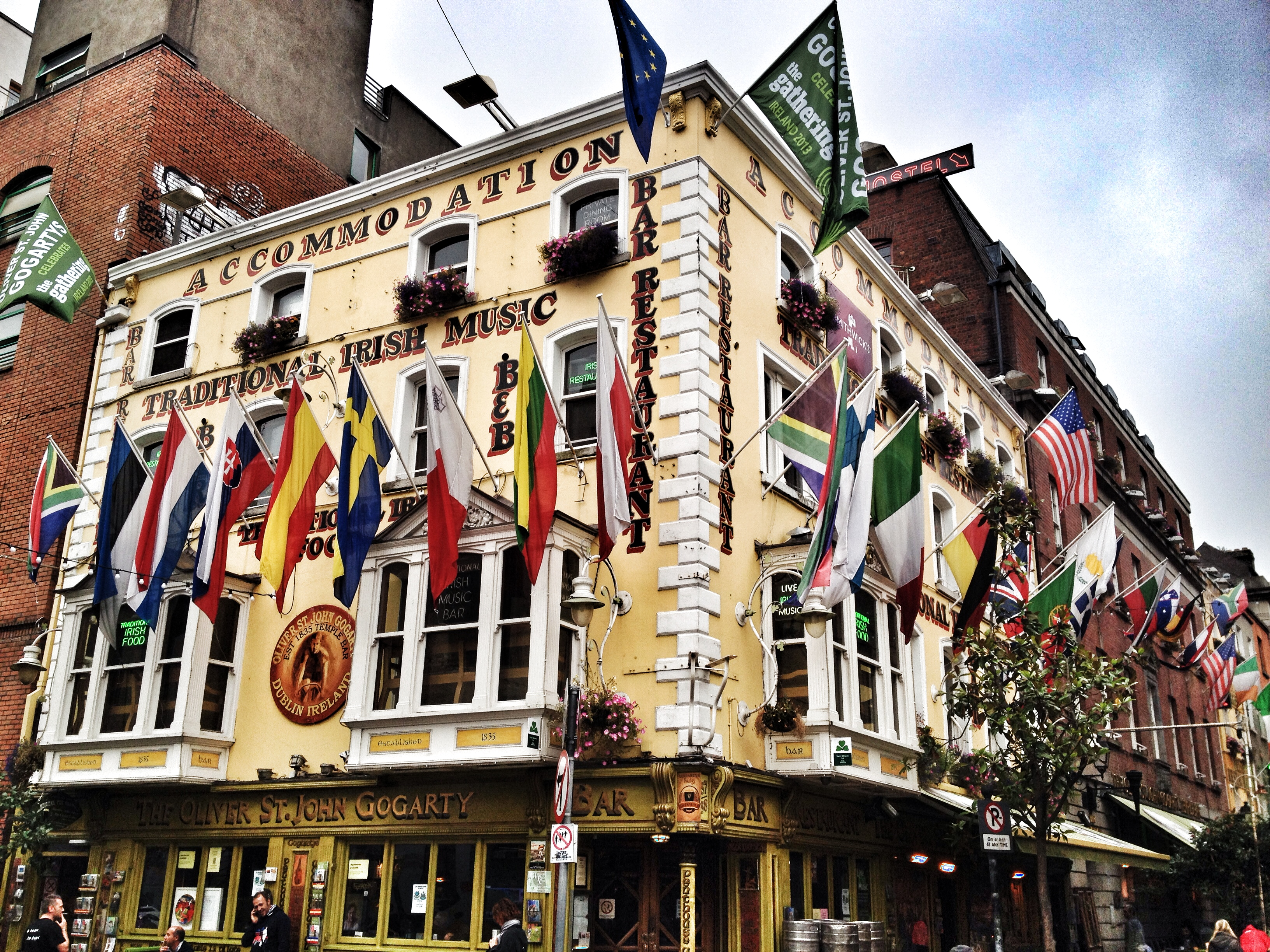 Photos from Pat Liddy's Walking Tour of Dublin