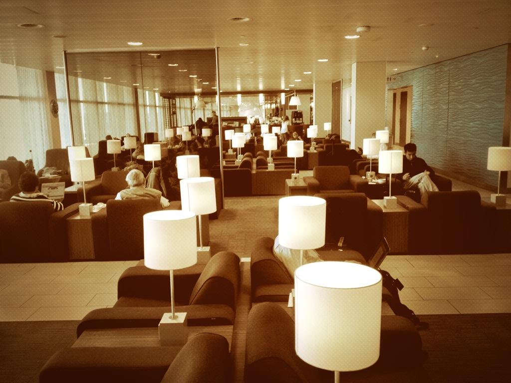 #24SchipholKLM: The KLM Business Crown Lounge