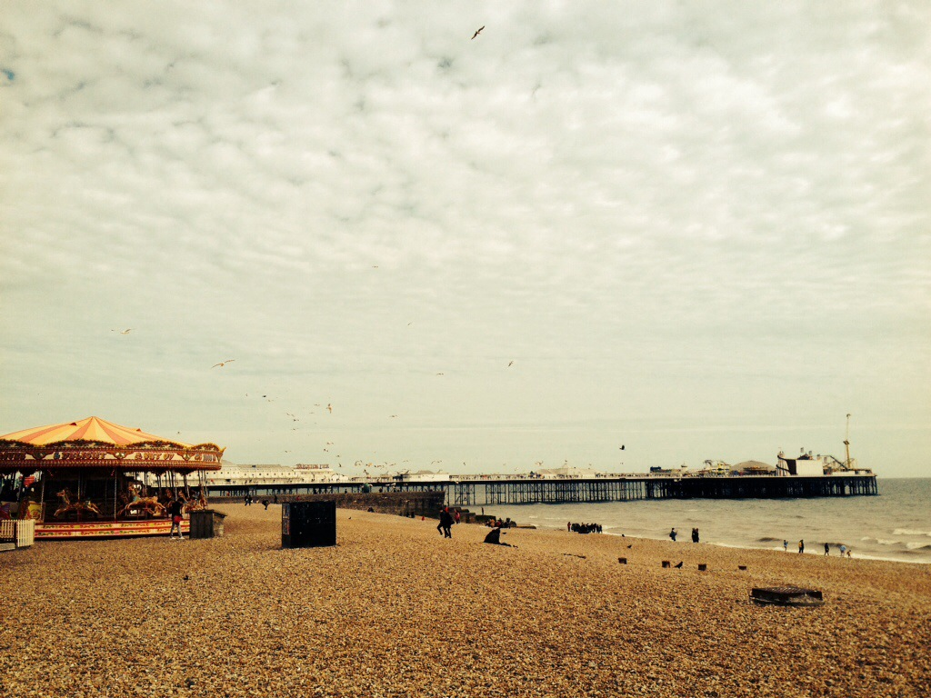 Funky Friday Foto: Brighton Beach