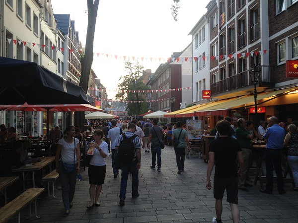 Dusseldorf, Youth Hotspots