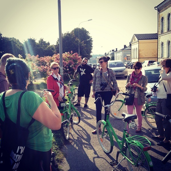 4. Immerse yourself in the history and culture of Porvoo by undertaking the Old Town Porvoo Bike Tour.