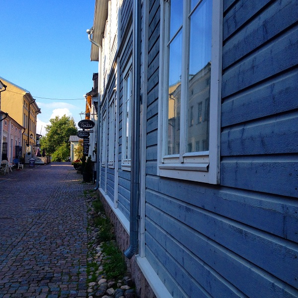 10. Wonderful colours of Porvoo's buildings!