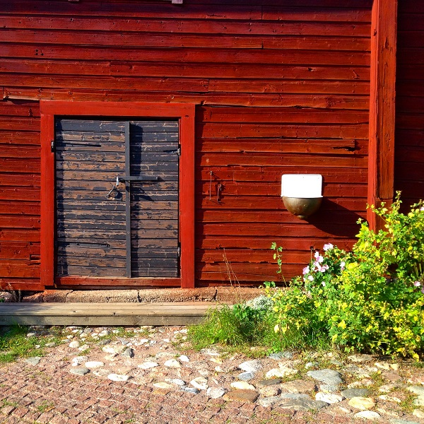 11. The Colour Red in Porvoo. It's so rich and striking to your eyes!