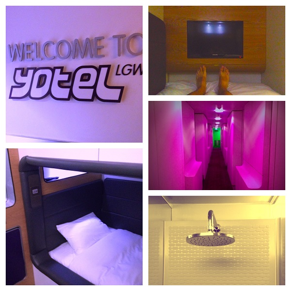 Review: Yotel Hotel at London Gatwick