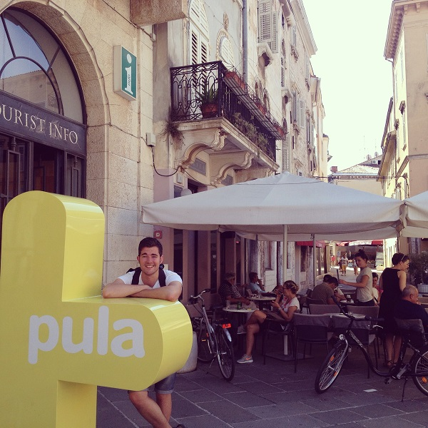 Backpacking in Croatia: Day 4 – Panoramic Pula