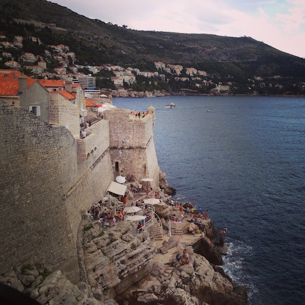 City Walls of Dubrovnik, Dubrovnik in Summer