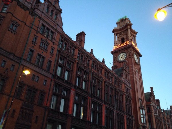 Manchester, Palace Hotel