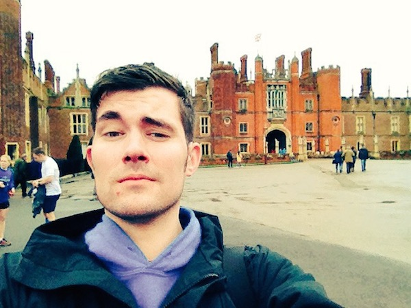 Handsome Travel Blogger at Kingston Upon Thames, UK