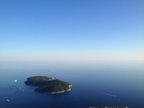 Lokrum, Dubrovnik. Mount Srd