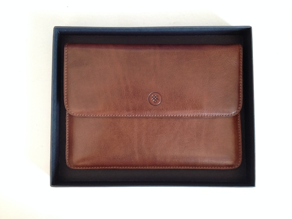 Review: The Torrino Travel Wallet from Maxwell Scott Bags