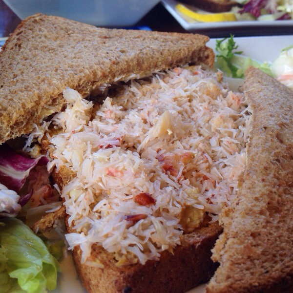 Crab Sandwiches at Flamborough Head