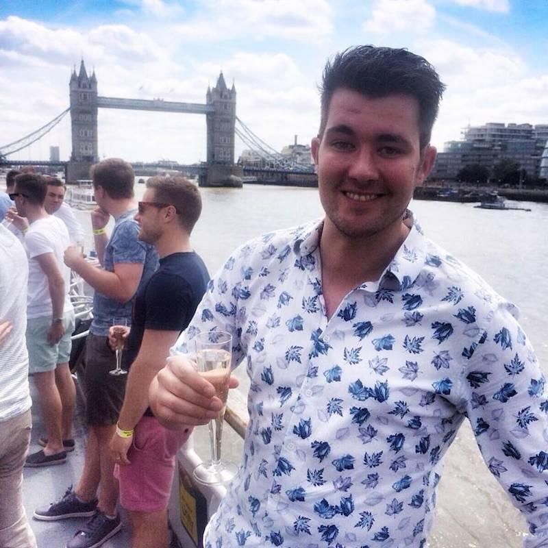 Handsome Travel Blogger