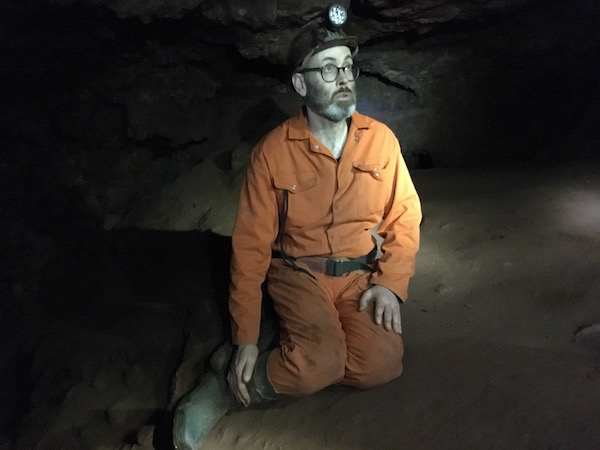 Caving in Clearwell Caves