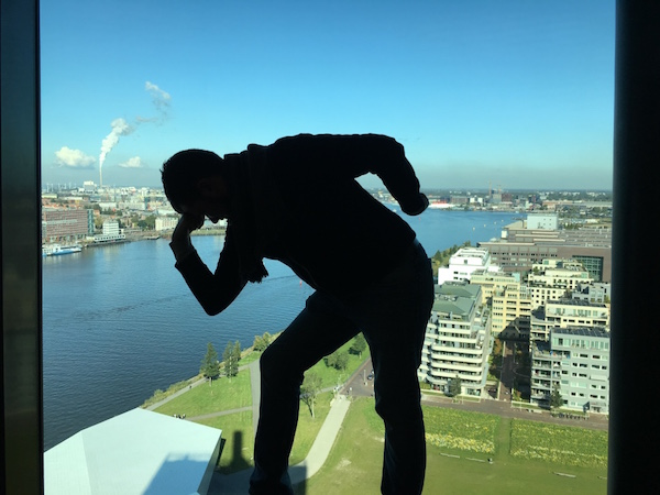 Adam Lookout deck, Amsterdam Noord