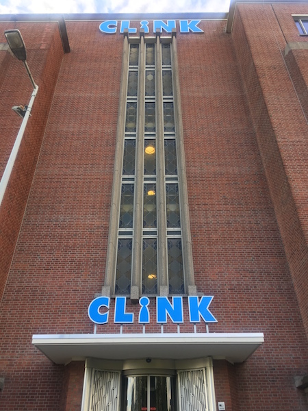 Clink hostel entrance