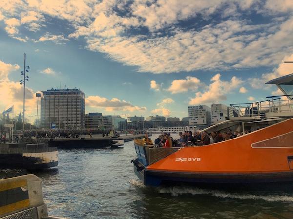 Amsterdam Noord, ferry