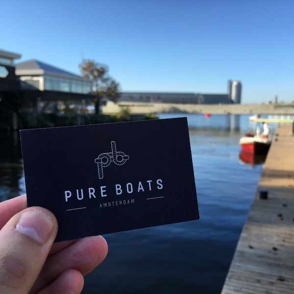 Pure Boat Tours, Amsterdam Noord