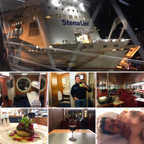 Rail and Sail with Stena Lines
