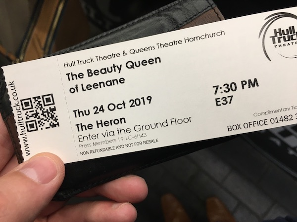 Hull Truck Theatre ticket