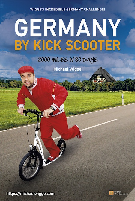 Germany by kick scooter